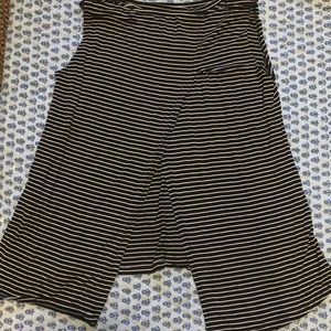 Striped Tank with back cutout !
